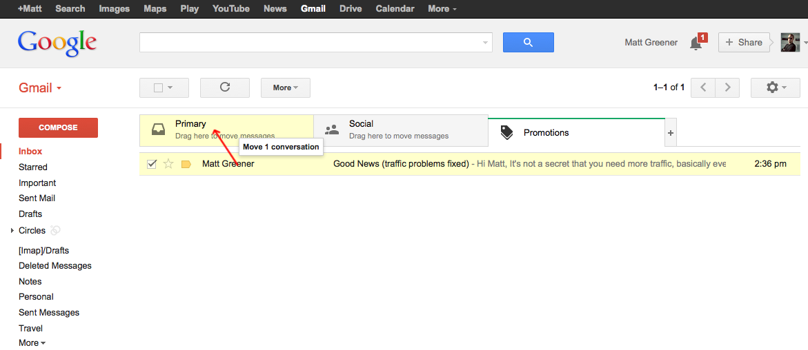 How To Ensure That Your GMAIL Is Seen With Their New FORMAT